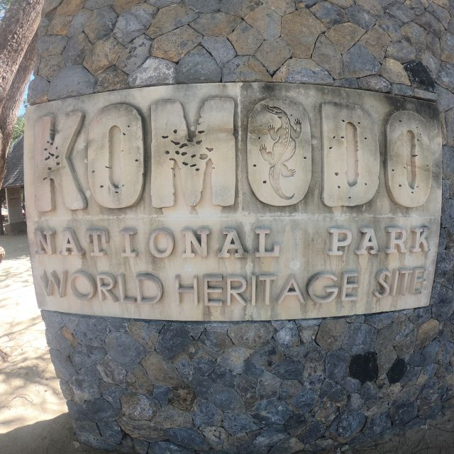 Eintritt zum Komodo Nationalpark