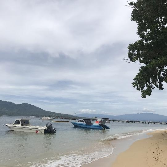 Der Strand der Bunaken