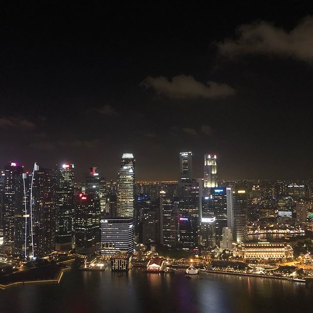 Mein Tipp für einen wunderschönen Ausblick über Singapurs Skyline: Das Ce La…