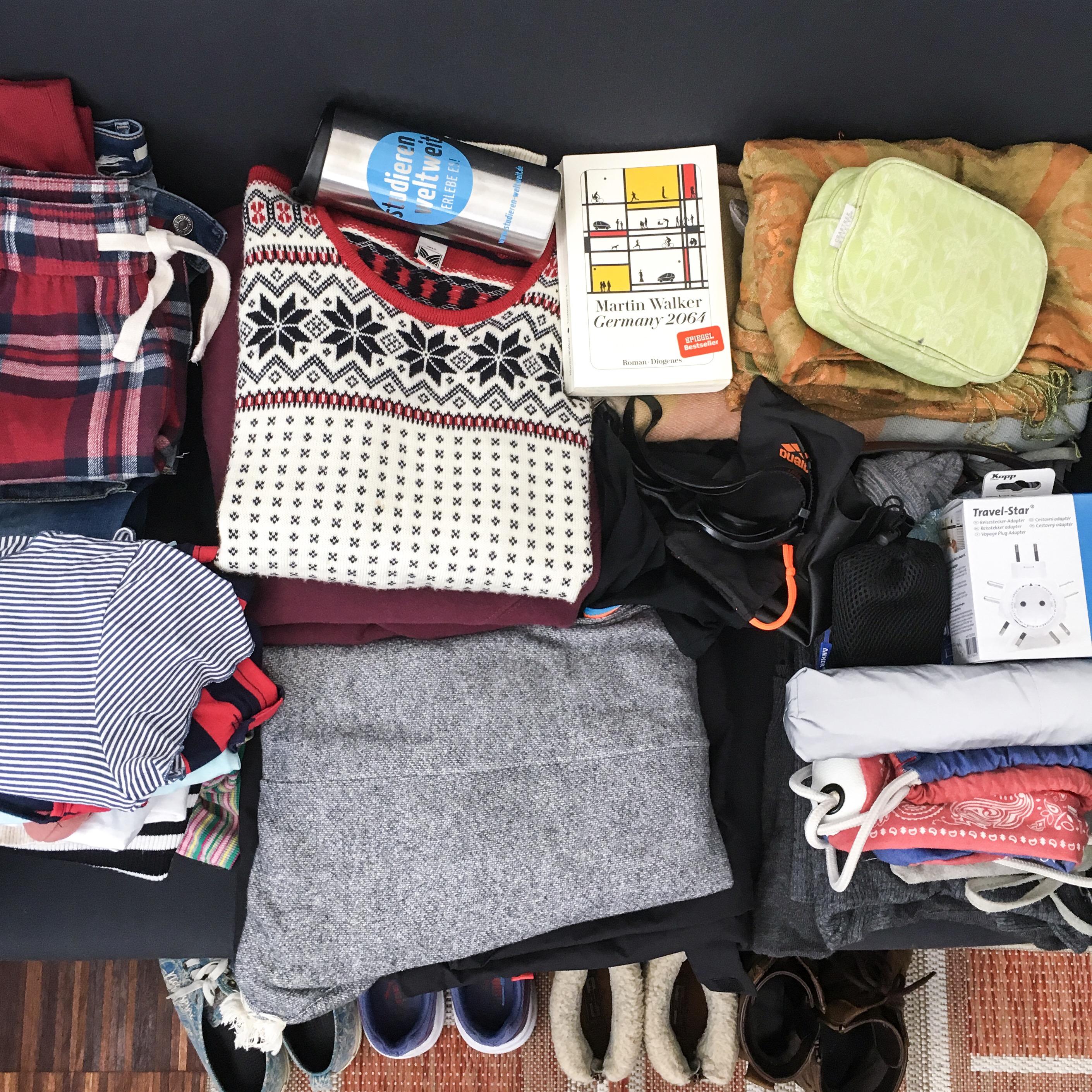 10 Dinge, an die du beim packen denken solltest …