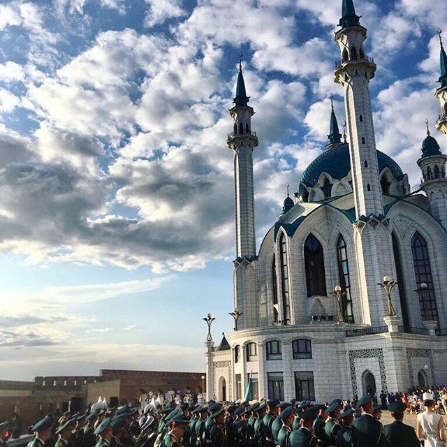 Die Kul-Scharif-Moschee ist eines der Wahrzeichen Kasans. Auf dem Gelände des…