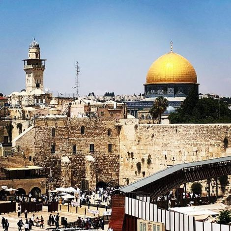 #Alquds / #Jerusalem: Drei Religionen, zwei Staaten, eine Stadt, keine Lösung.…