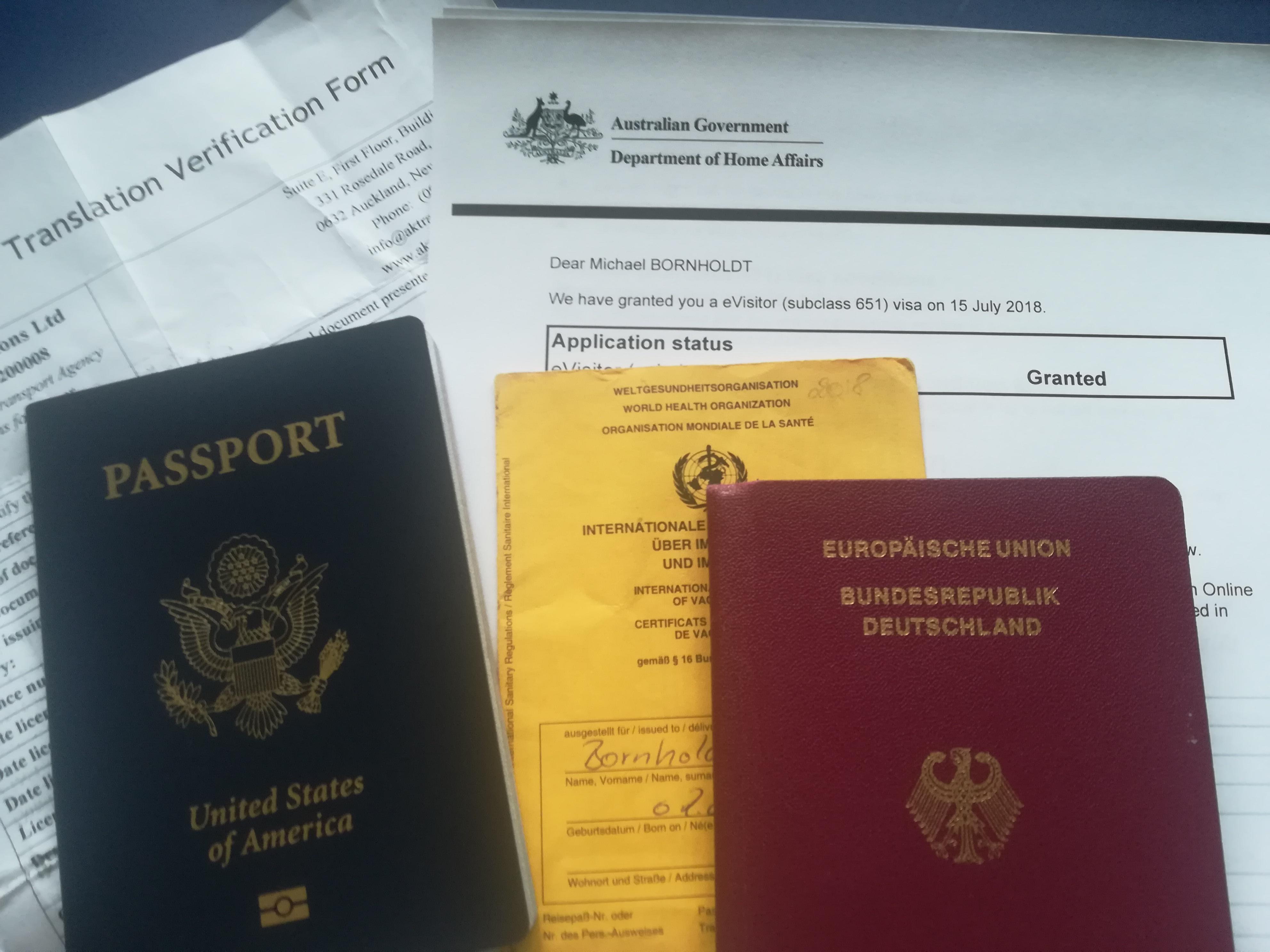 Vorbereitet nach Australien – aber wie?