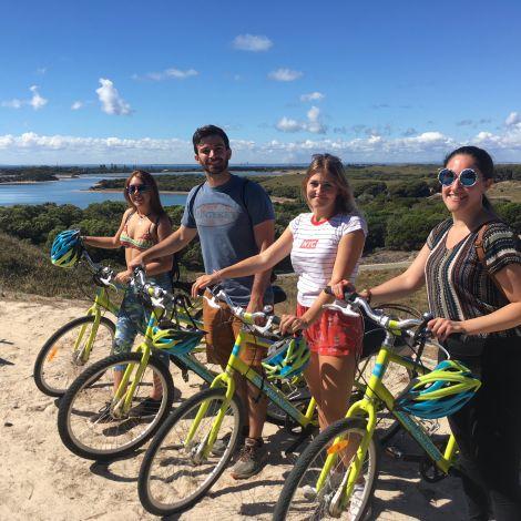 Fahrradtour in Australien
