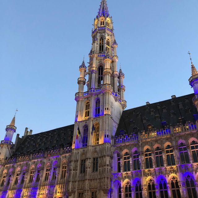Schönes, altes Rathaus von Brüssel