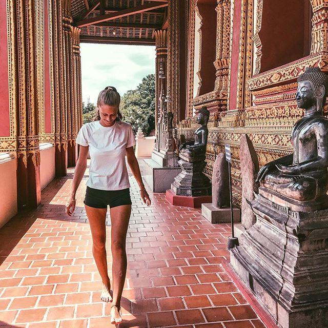🏯 #erlebees #laos #lao #vientiane #hawphrakaew #buddhisttemple #travelasia…