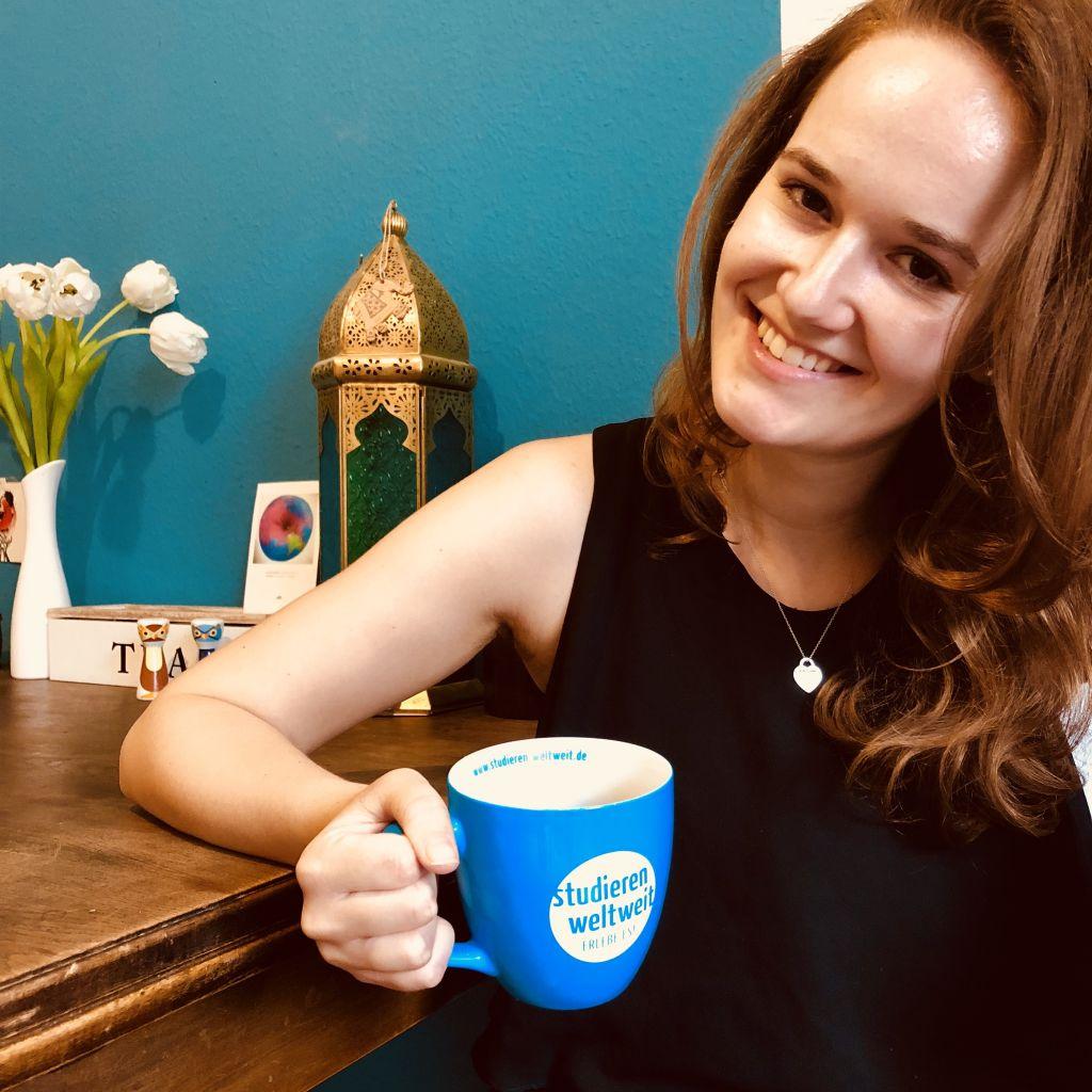 Studieren Weltweit-Kaffeetasse