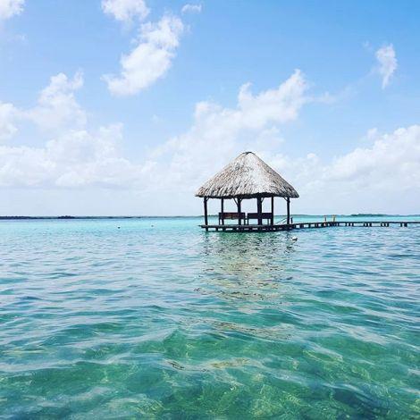 Lagune der 7 Farben ⛵🌈…