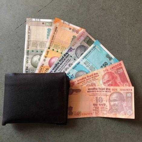 Die indische Währung heißt Rupie.