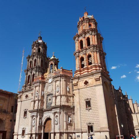 Kirche im Zentrum von San Luis Potosí