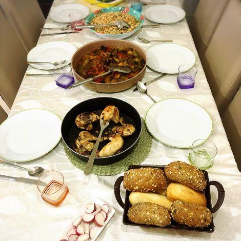 Traditionell palästinensisches Essen