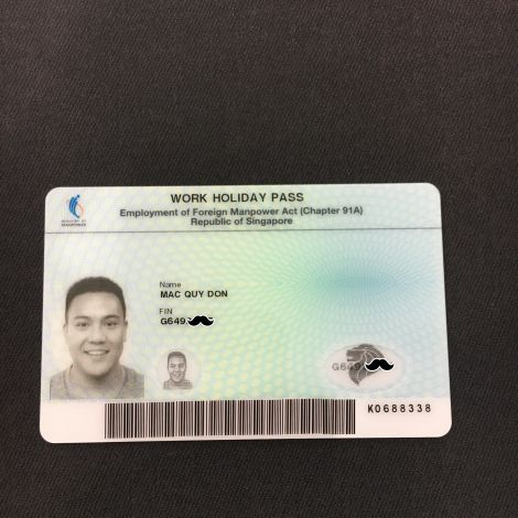 Work Holiday Pass aus Singapur