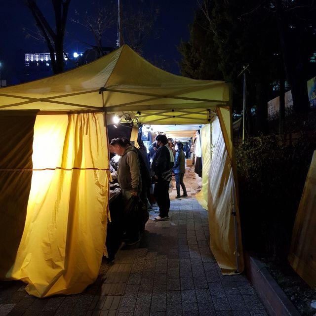 Nachtmarkt am DDP
