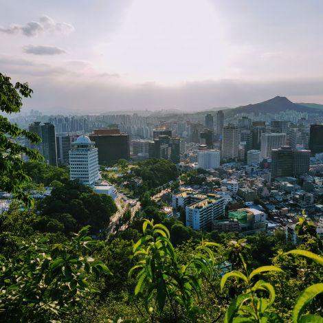 Aussicht über Seoul