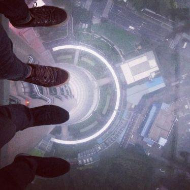 Der Oriental Pearl Tower ist mit 468 Metern der fünfthöchste Fernsehturm der…