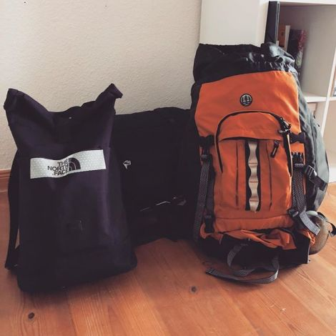 Alle guten Dinge sind drei?! So viel Gepäck, das ich mitnehme, aber der Winter…