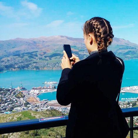 Immer dabei Fotos zu schießen und  meine Zeit in Neuseeland für Euch…