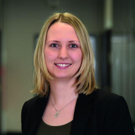 Anna Menschig, eine Mitarbeiterin von Audi.