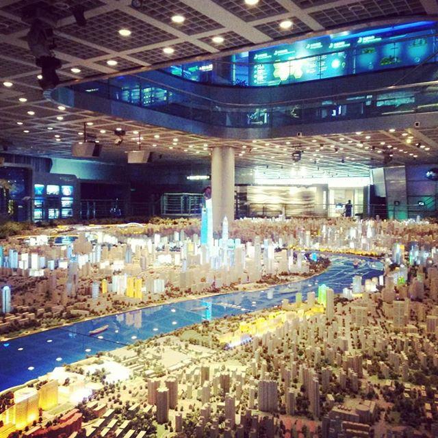 """Kernstück unter den vielfältigen Ausstellungen im """"Shanghai Urban Planning…"""