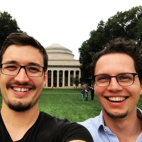 Vom KIT zum MIT. Nachdem mich @tiurianduril im Frühjahr in Beijing besucht…