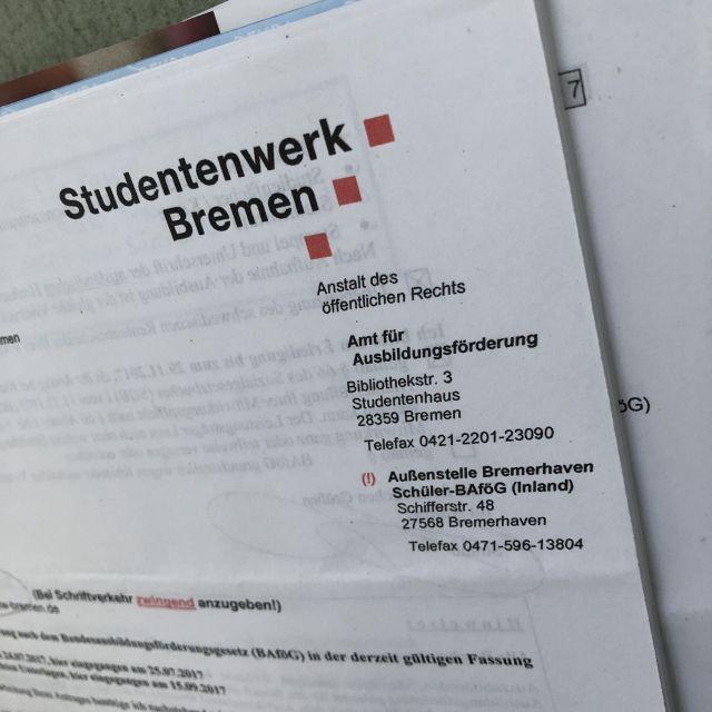 Adresse vom Studentenwerk Bremen