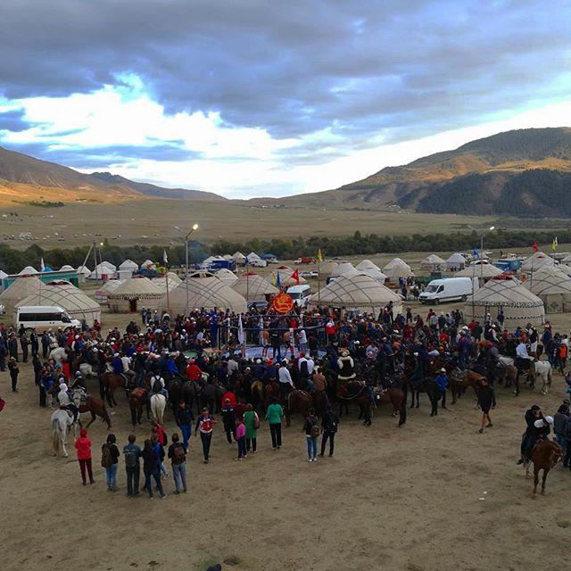 Die World Nomad Games sind das (touristische) Highleight des Jahres in…