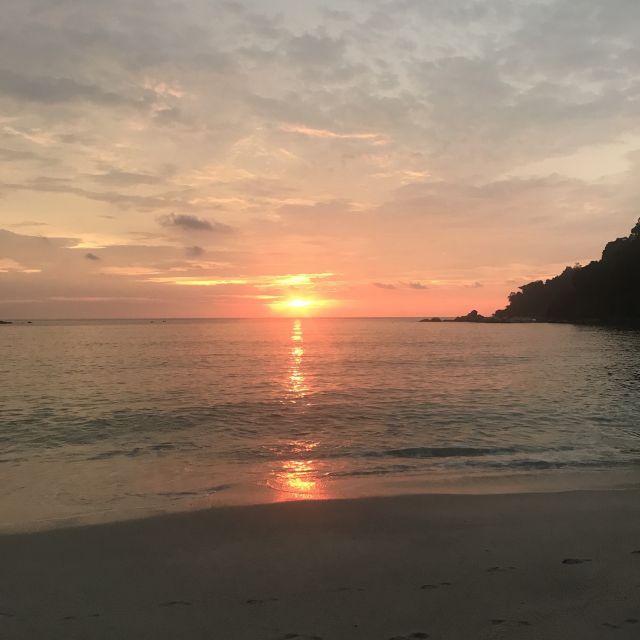 Sonnenuntergang auf Pulau Pangkor