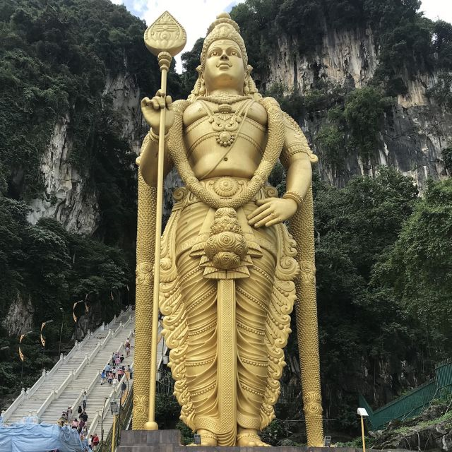 Murugan-Statue bei den Batu Caves