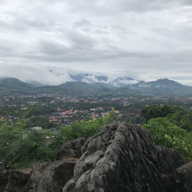 Die Sicht vom Mount Phousi, Vientiane (Laos' Hauptstadt)