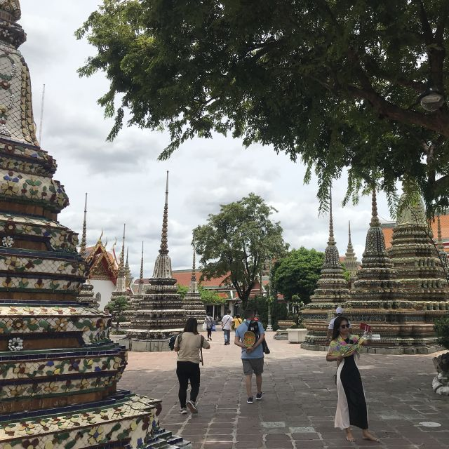 Buddhistischer Tempel Wat Pho in Bangkok
