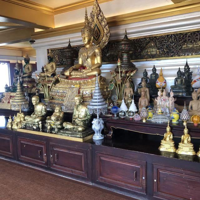 Buddha-Statuen auf dem Golden Mount, Bangkok