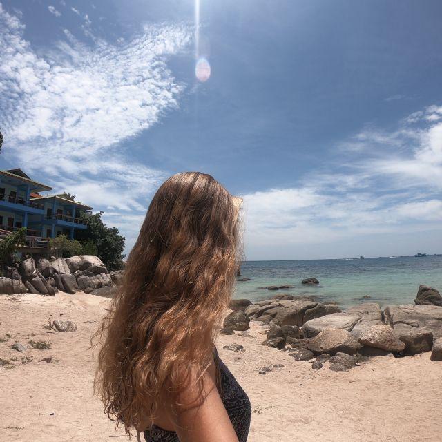 Ich am Strand von Koh Tao