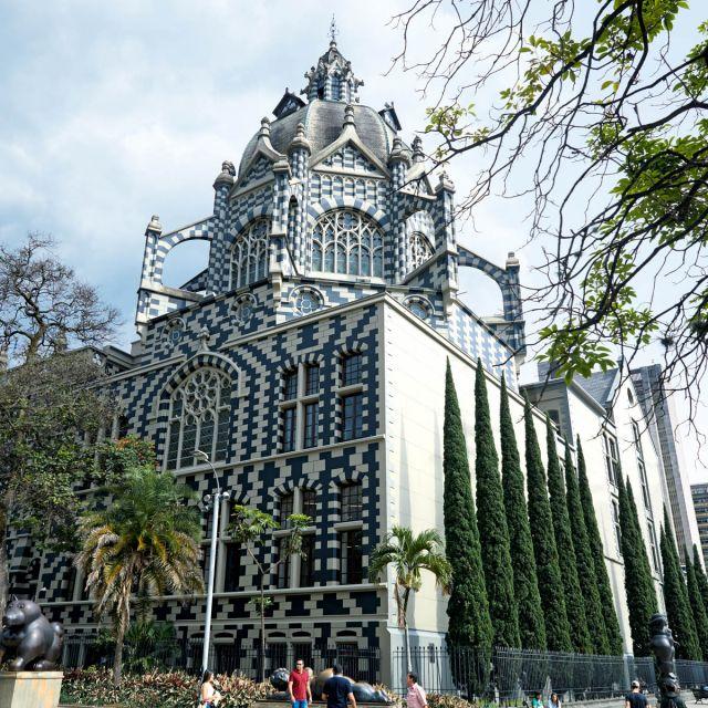 Der Kulturpalast in Medellín.