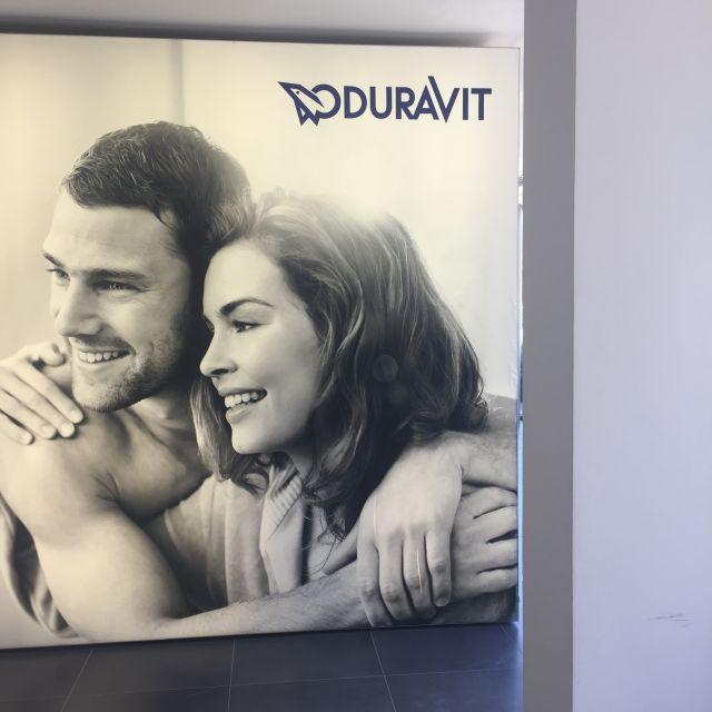 Eingang zum Showroom der Duravit AG in Tunesien