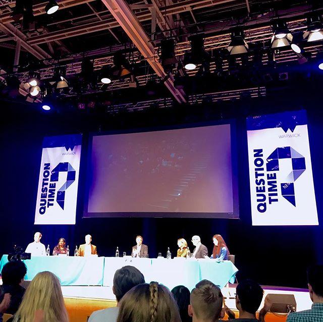 Der letzte Tag vor Vorlesungsbeginn #QuestionTime Talkshow von wirtschaftlicher…
