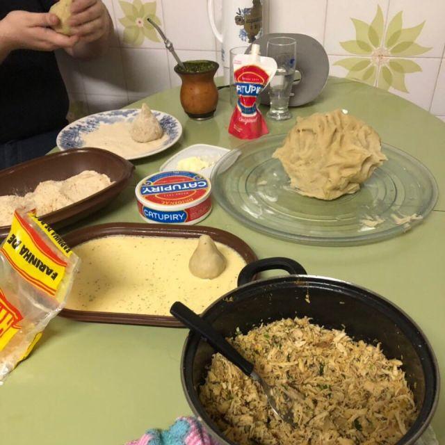 Zubereitung von Coxinhas
