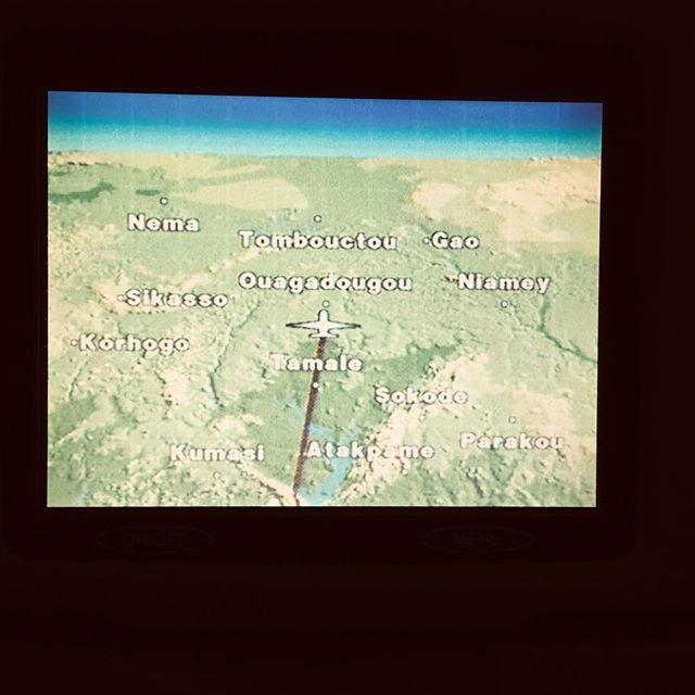 Wie bin ich hier hergekommen? #Ouaga #erlebees #Flug