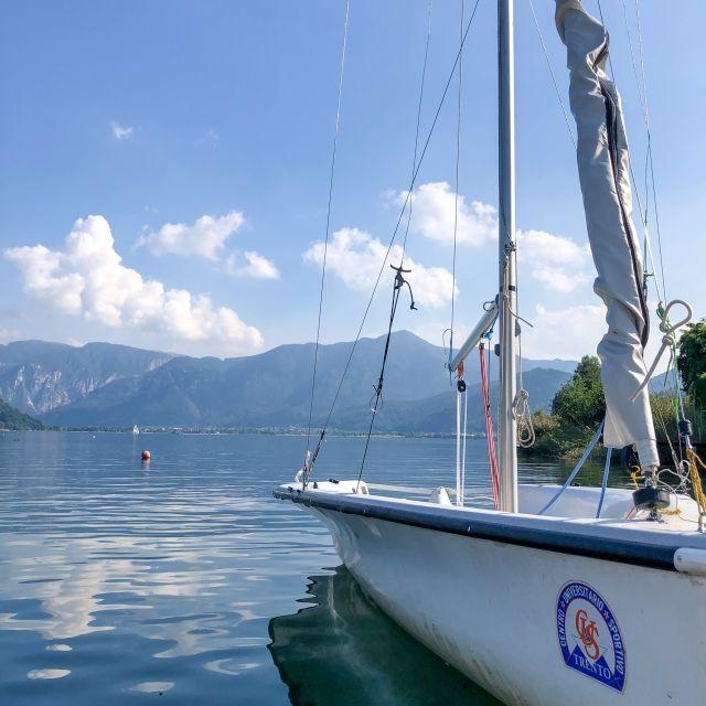Lago di Caldonazzo Boot und Wasser