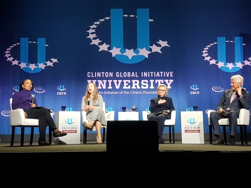 Die Clintons, ein UN-Generalsekretär und ein Friedensnobelpreisträger