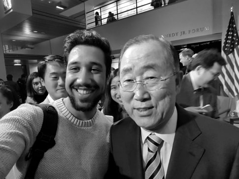 Südkoreanischer Diplomat und UN-Generalsekretär, Ban-Ki-Moon