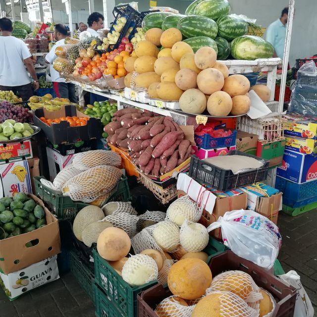 Obst auf dem Souk, dem tunesischen Basar.