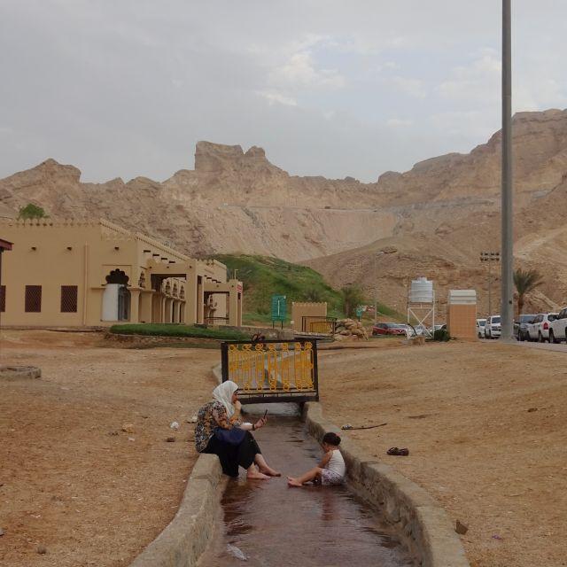 Warme Quellen Jebel Hafeet