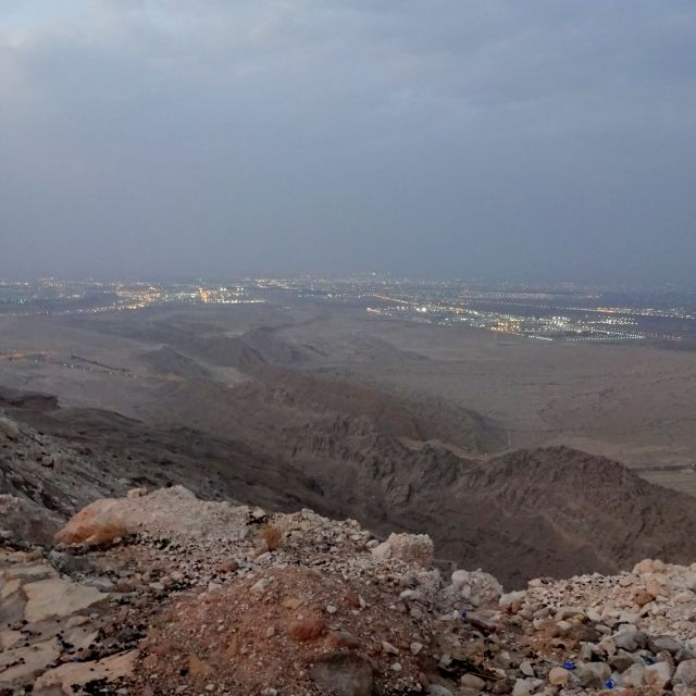 Aussicht auf Al Ain vom Jebel Hafeet aus.