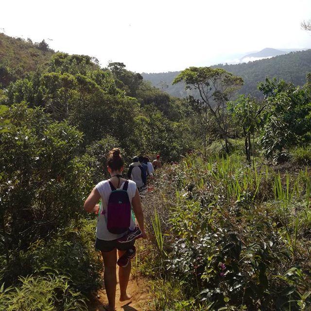 In #Brasilien bin ich richtig auf den Geschmack vom #Wandern gekommen…