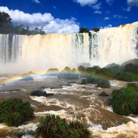 Lange habe ich überlegt ob sich die #Wasserfälle bei Foz do Iguaçu wirklich…