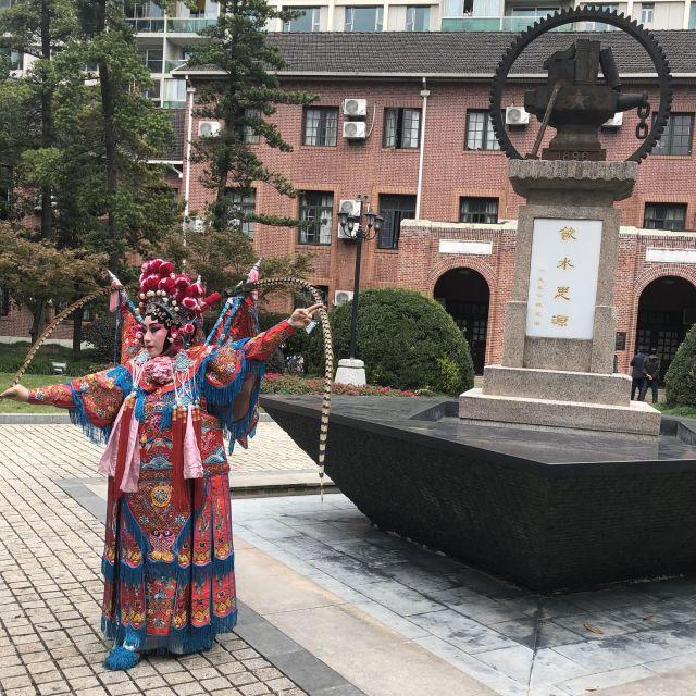 Chinesische Kultur am Morgen