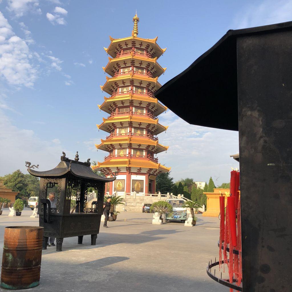 Tempel in Qibao
