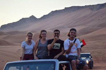 Hätte nicht gedacht, dass man so viel Spaß in der Wüste haben kann! Thanks…