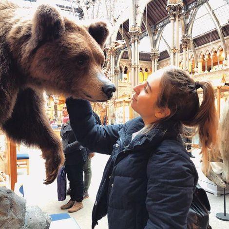 Habe einen Bärliner im Museum in Oxford getroffen. Was soll ich sagen? Liebe…