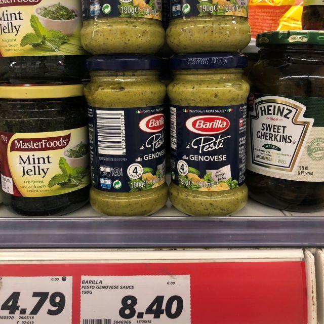 Pesto für 8,40 SGD